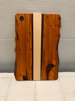 SOLD $50 PB#316 Cutting-Board Live Edge