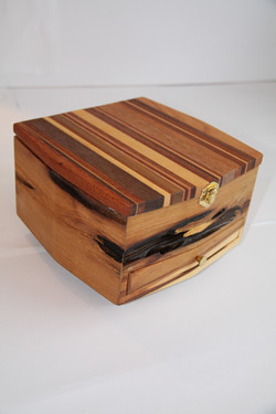 SOLD Jewelry Box Oblong -Shapedd