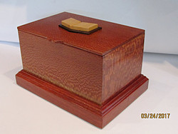 Urn with Overlay Open Book