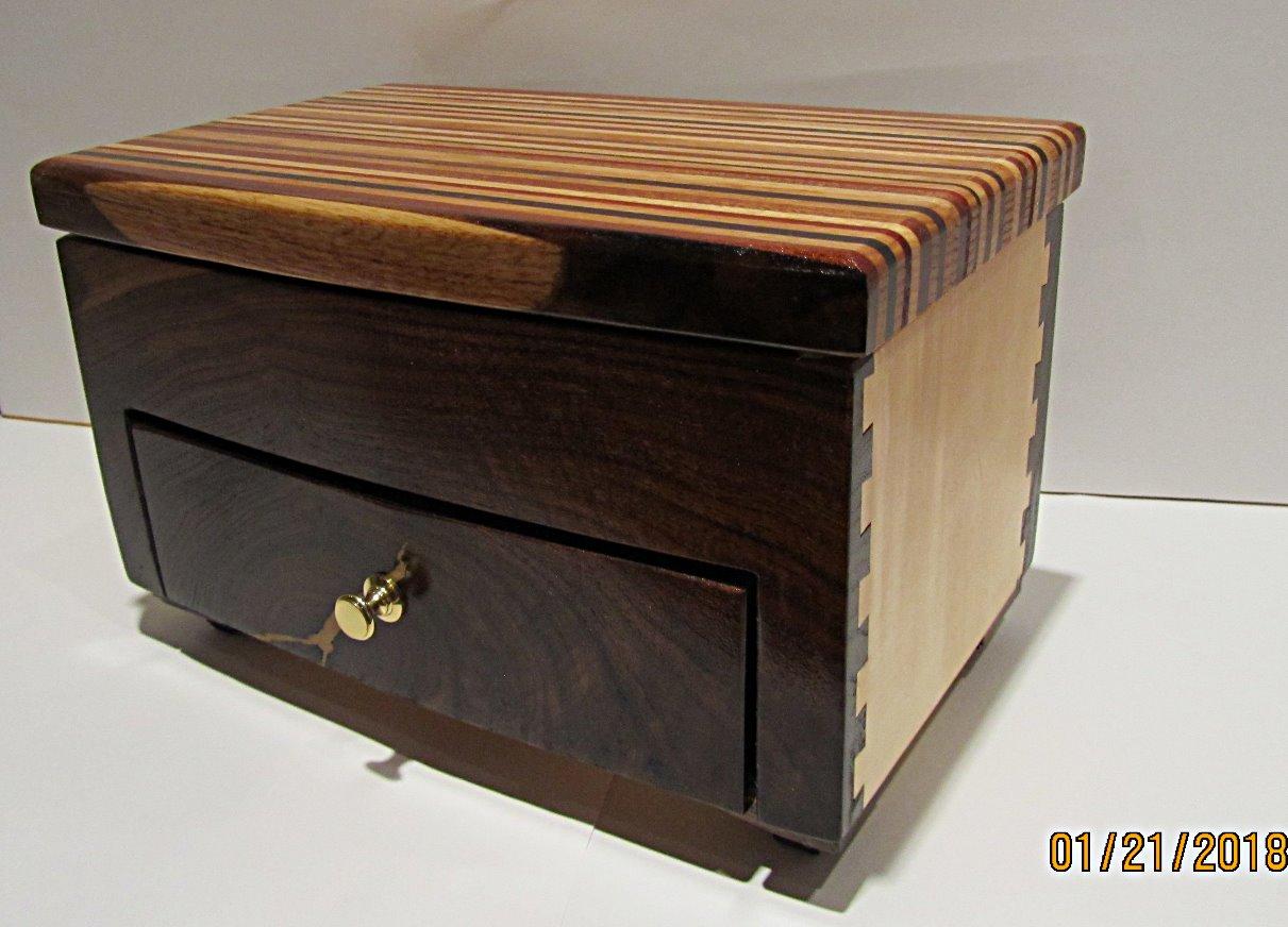 SOLD Jewelry Box