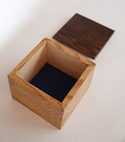 SOLD Wenge Box