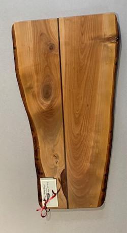 PB#362 Live Edge Cutting Board $90 3 layers