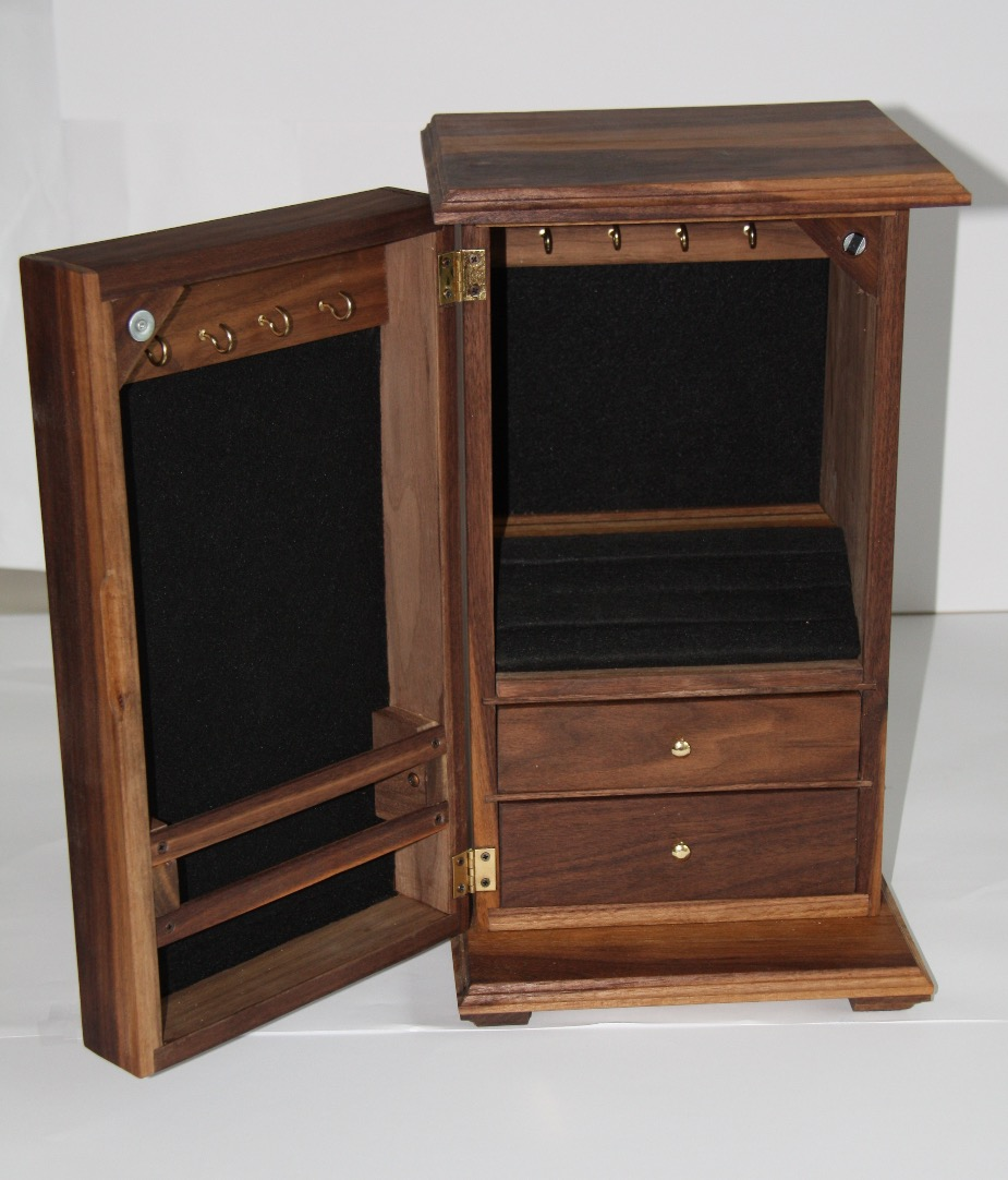 SOLD Jewelry Cabinet