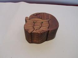 PB#290a Full Cat Puzzle Box $45