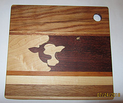 SOLD Cutting Board Cow Jatoba
