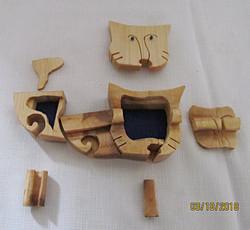 SOLD Cat Puzzle