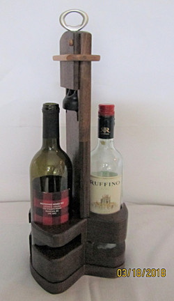 SOLD Wine Rack PB#116