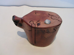 PB#292 Tea Pot-Shape Puzzle Box $40