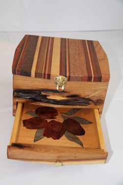 SOLD Small Jewelry Box