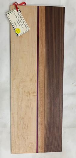 PB#364 Live Edge Cutting Board $50 4 layers