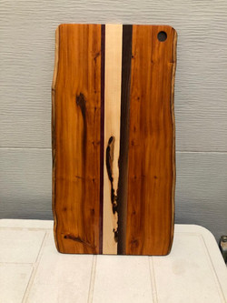 SOLD $75 PB#317 Cutting-Board Live Edge