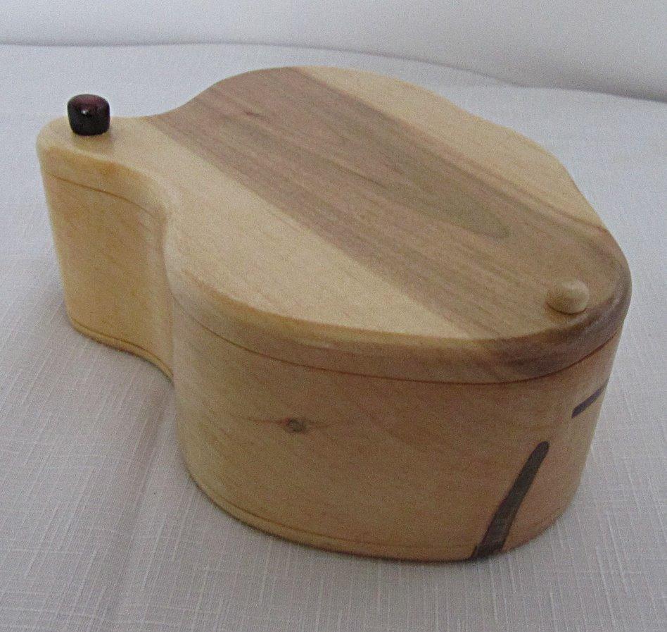 SOLD Organic Shaped Box