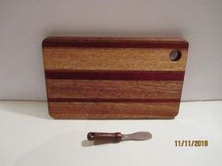 SOLD PB#272 Cheese Board $25
