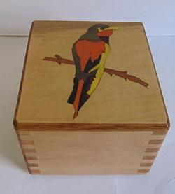 SOLD Bird Inlay