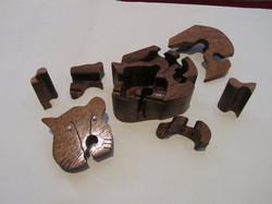 PB#290e Full Cat Puzzle Box $55