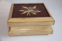 Tulip Inlay Box Pine
