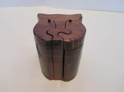 PB#289b Cat Face Puzzle Box $30