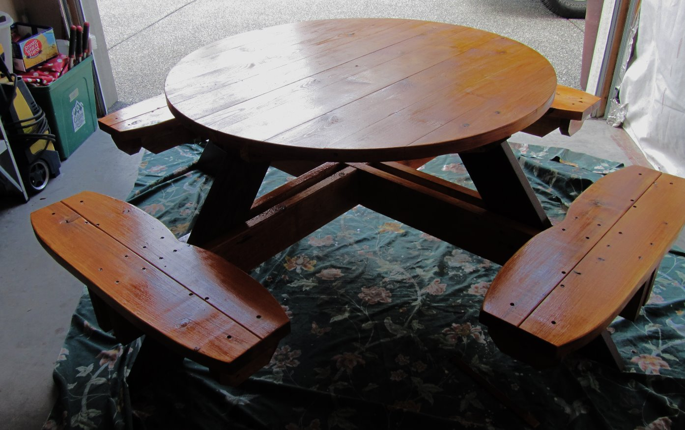 Picnic table for Christine