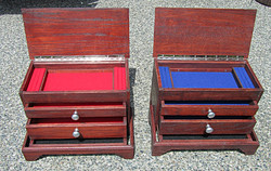 Jewelry cabinets for Bill Farmer