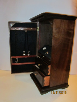 PB#267 Tall Jewelry Case $295