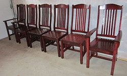 6 chairs for Jérémie dining room
