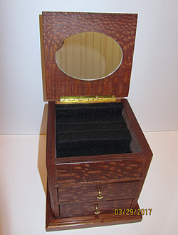 Jewelry box with Mirror