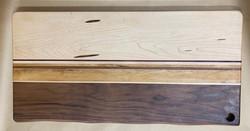 PB#359 Live Edge Cutting Board $130 8 Layers