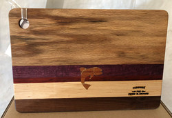 Cutting Board Fish Jatoba