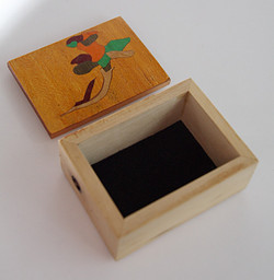 Flower Inlay Box #4