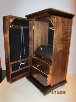 PB#268 Tall Jewelry Case $295