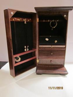 PB#267 Tall Jewelry Case $295