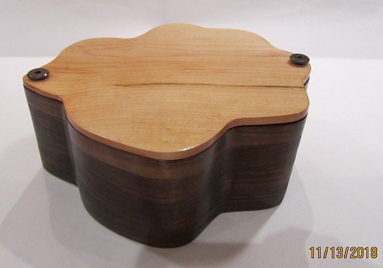 4-Leaf Clover Jewelry Box PB#209