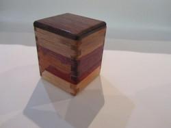 PB#300 Small Box Black Walnut Lid $15