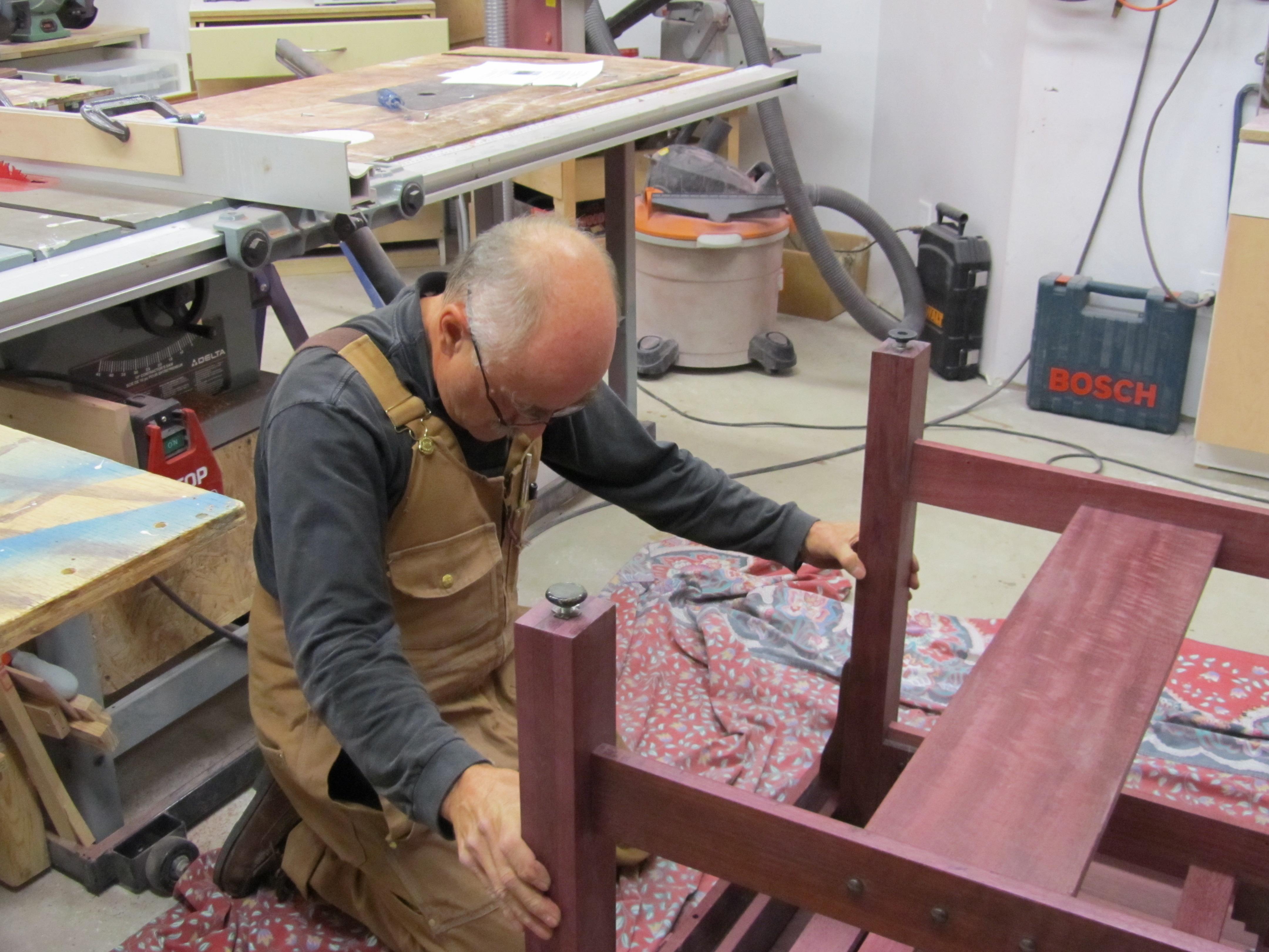 Pierre At work