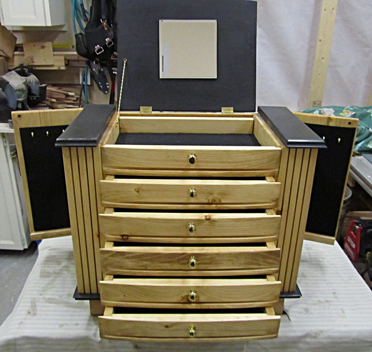 Jewelry cabinet for Kristin