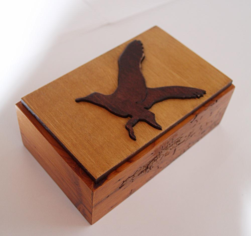PB#28 Eagle Bird Overlay Box $30