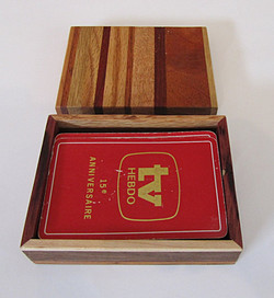 SOLD Playing cards Box Single Deck