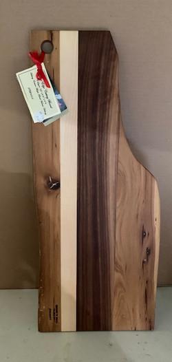 PB#354 Live Edge Cutting Board $60 4 Layers