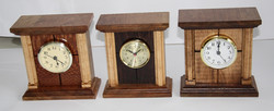 3 Table Clocks