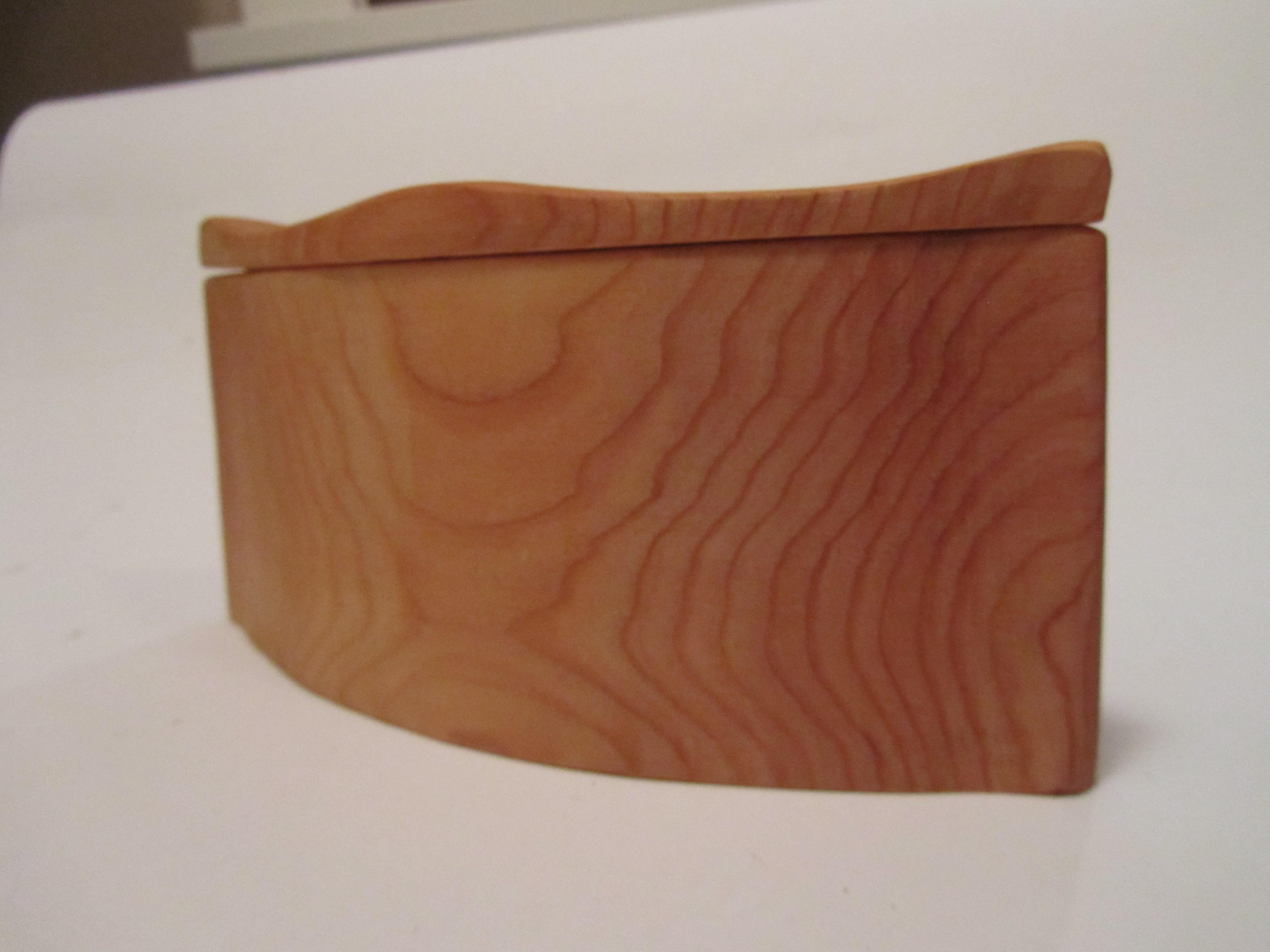 Bandsaw cut