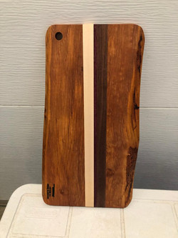 SOLD PB#319 Cutting-Board Live Edge $70