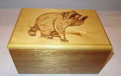 SOLD Racoon Box