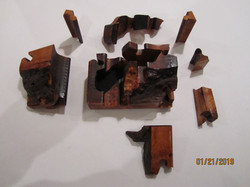 SOLD PB#222a Puzzle Box Live Edge #2