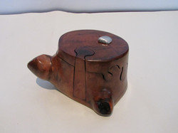 PB#292a Tea Pot-Shape Puzzle Box $40