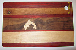 SOLD Cutting Board Fish Maple