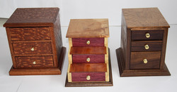 3 Jewelry Boxes