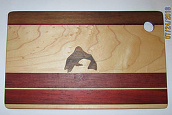 SOLD Cutting Board Fish Walnut