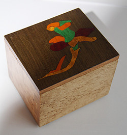 Flower Inlay Dovetail #3