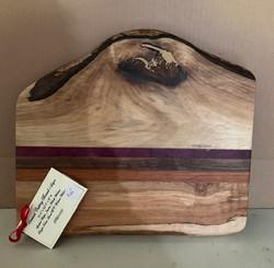 PB#429 Unusual Cutting Board 5 Layers $45