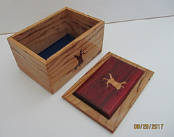 Tree Trunk Inlay Box